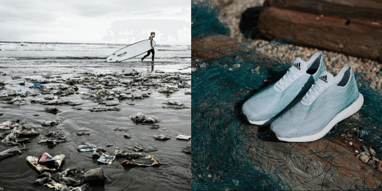 2015年五大CSR成功活動-愛迪達「廢魚網」球鞋-CSRone